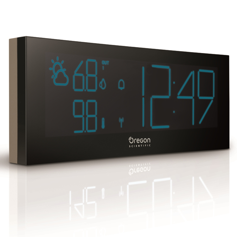 oregon scientific store oregon scientific bar292a g prysmachrome weather station grey. Black Bedroom Furniture Sets. Home Design Ideas