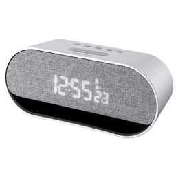 Oregon Scientific CIR600 Resonance Music LED Digital Alarm Clock with Stereo Bluetooth Speaker
