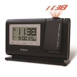 Oregon Scientific RM308PA-BK Atomic Dual Alarm Projection Clock