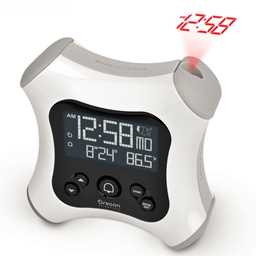 Oregon Scientific RM330P Projection Alarm Clock with Indoor Thermometer