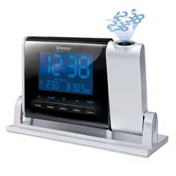 Oregon Scientific RMR329P Atomic Projection Clock with Indoor/Outdoor Temperature