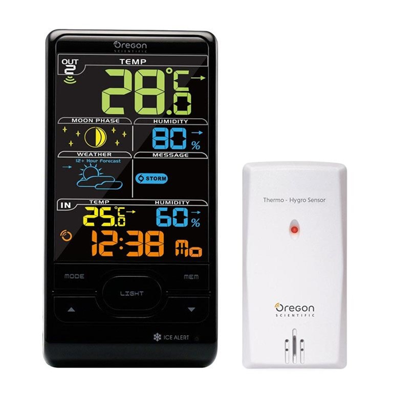 oregon scientific bar208s bar208sa advanced wireless weather rh oregonscientificstore com New Oregon Scientific Weather Station Bluetooth Oregon Scientific User Manuals