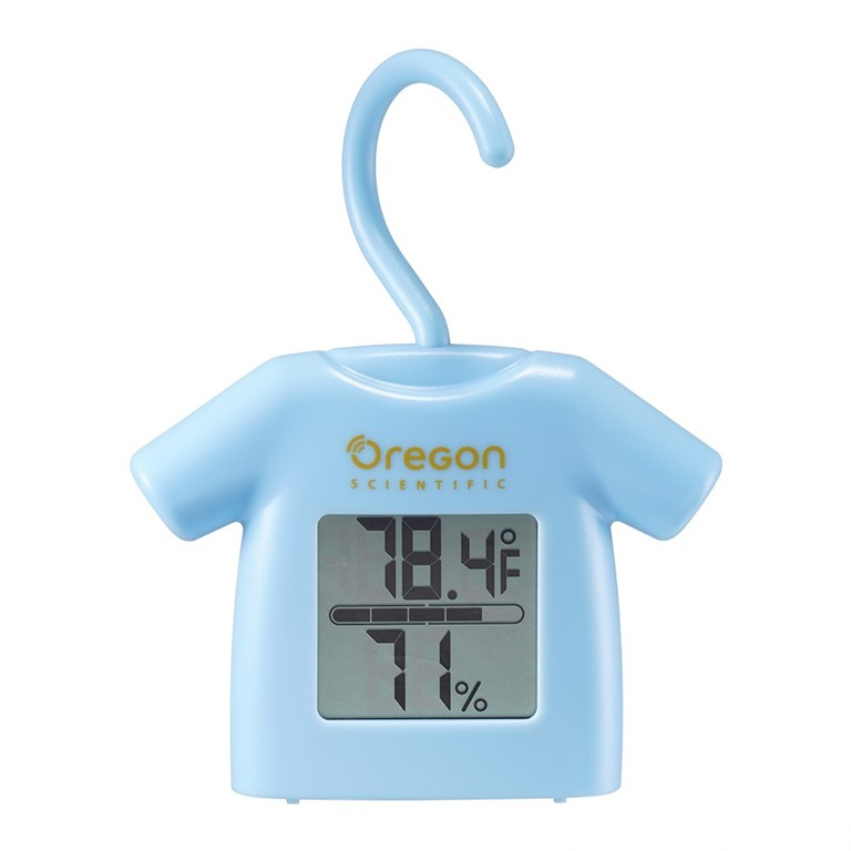 Oregon Scientific CHS0012 Indoor Humidity Temperature Monitor LCD Display
