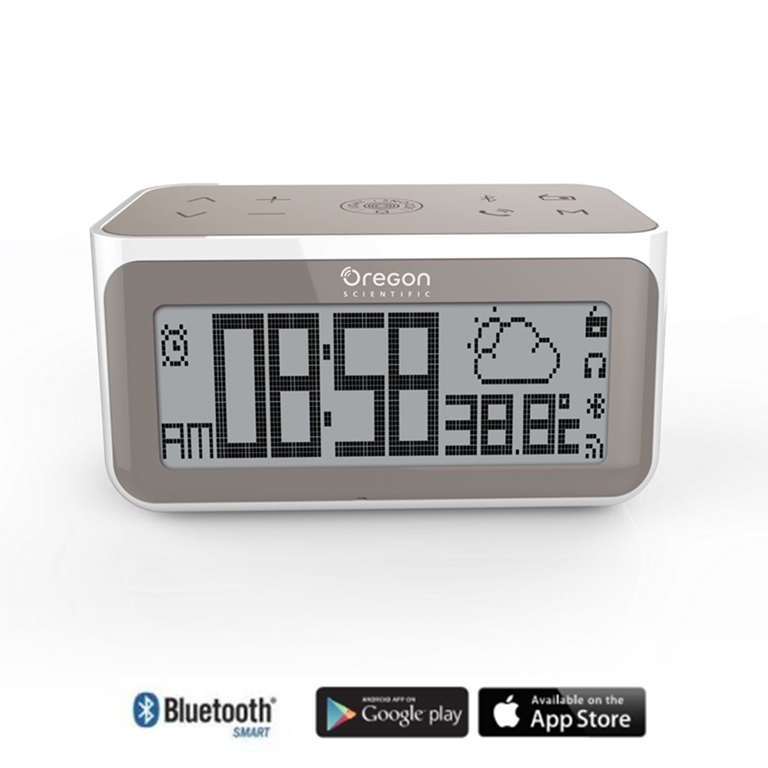 Oregon Scientific CIR100 Smart Connected Clock with Internet Radio