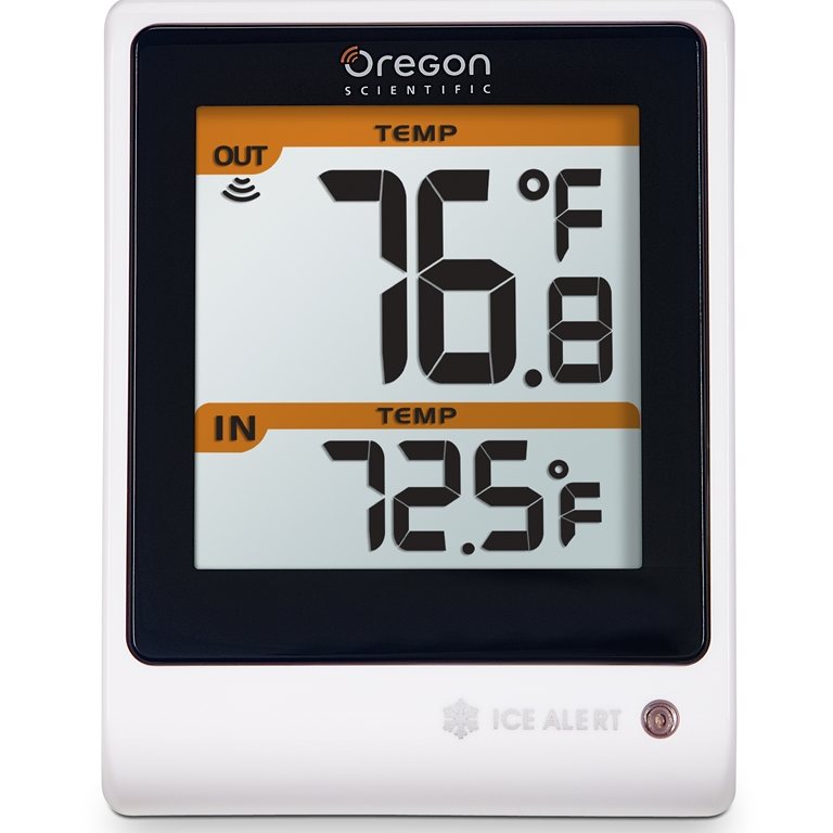 Oregon Scientific EMR201 Thermometer with LED Ice Alert