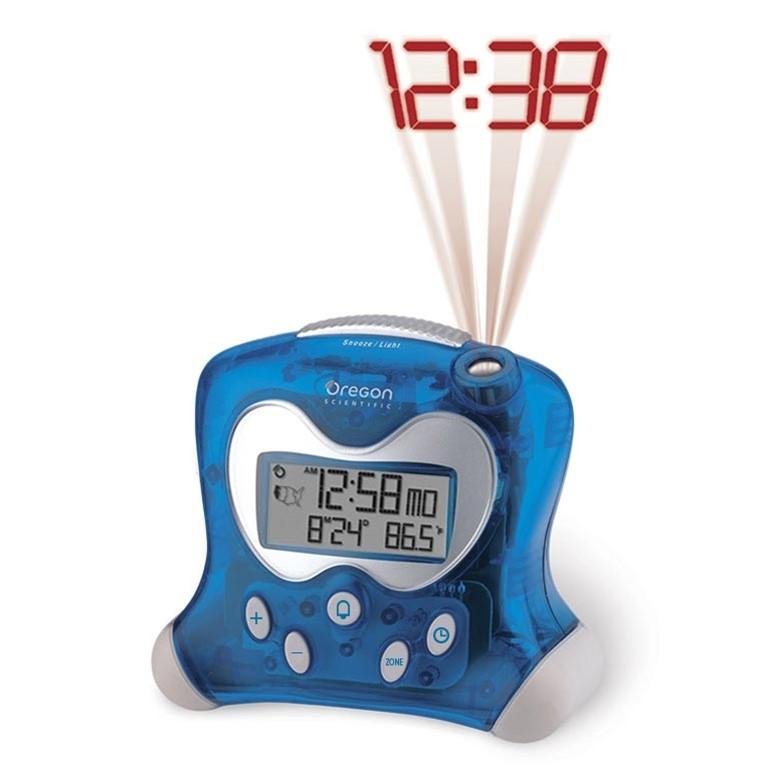 Oregon Scientific Rm313pna Blue, Digital Projection Alarm Clock Manual