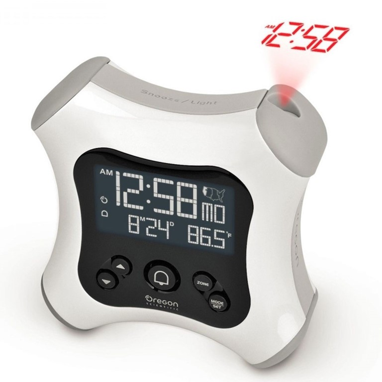Oregon Scientific RM330P / RM330PA Projection Alarm Clock with Indoor Thermometer