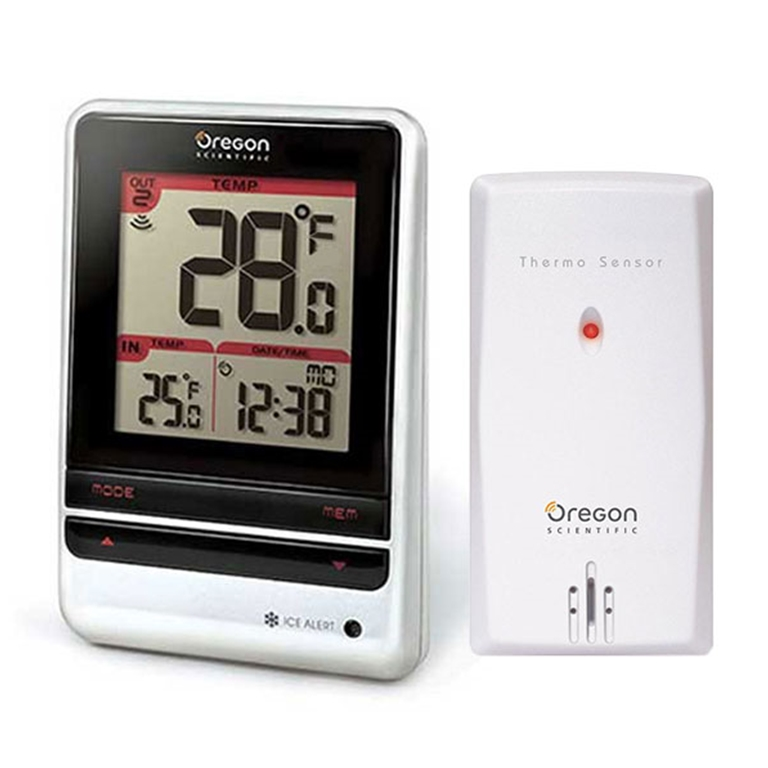oregon scientific store oregon scientific rmr202a indoor and rh oregonscientificstore com The Weather Channel Wireless Thermometer Weather Instruments Thermometer