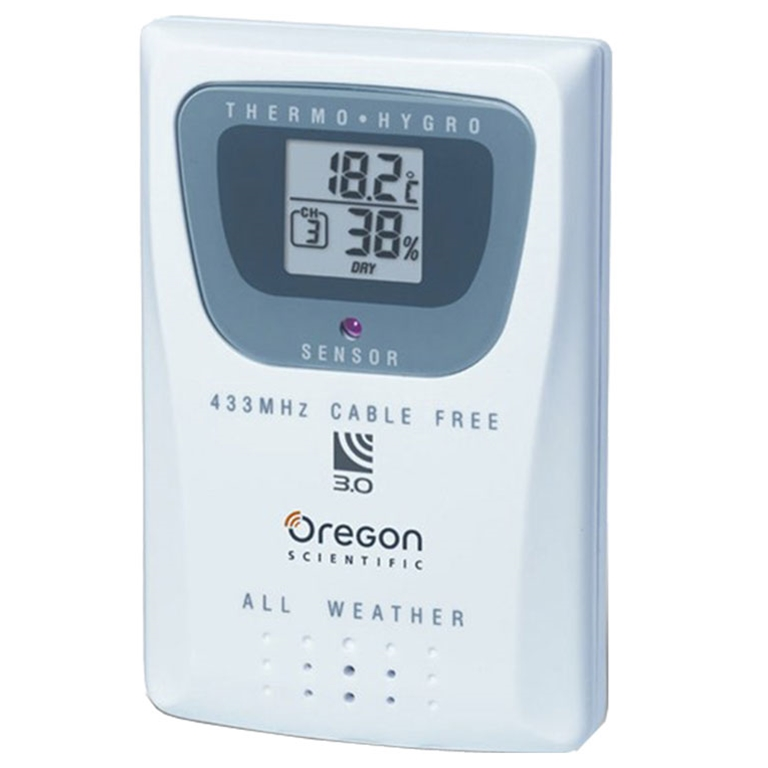 Oregon Scientific THGR810 Thermometer and Humidity Sensor-10 Channels