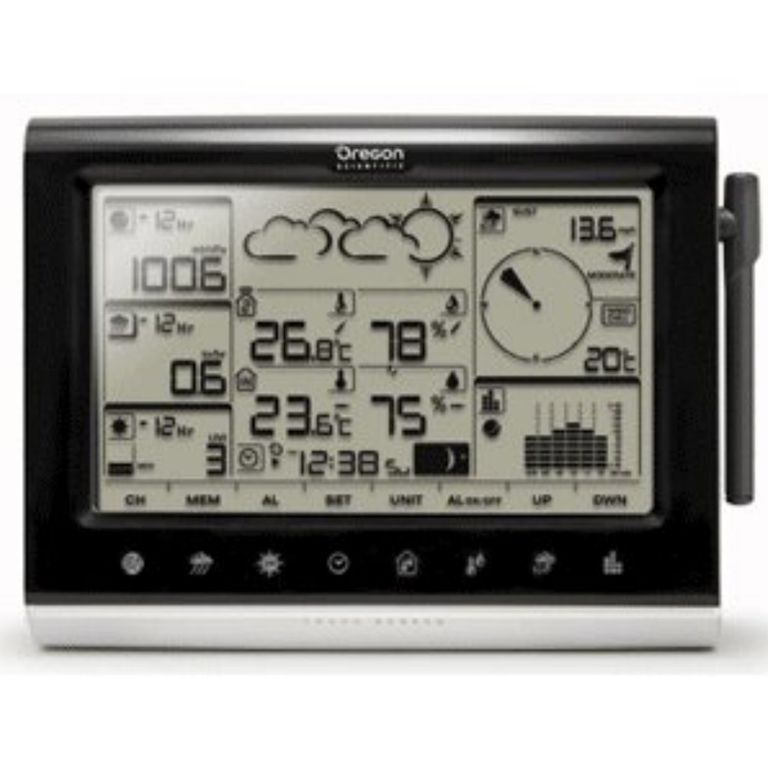 Oregon Scientific WMR200CA-OEM Main Display Console For Professional Weather Stations - Not In Retail Packaging