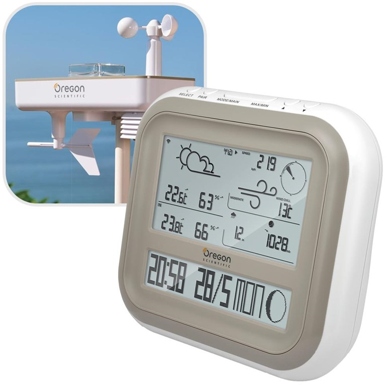 Oregon Scientific WMR500 / WMR500A Professional All-In-One Weather Station