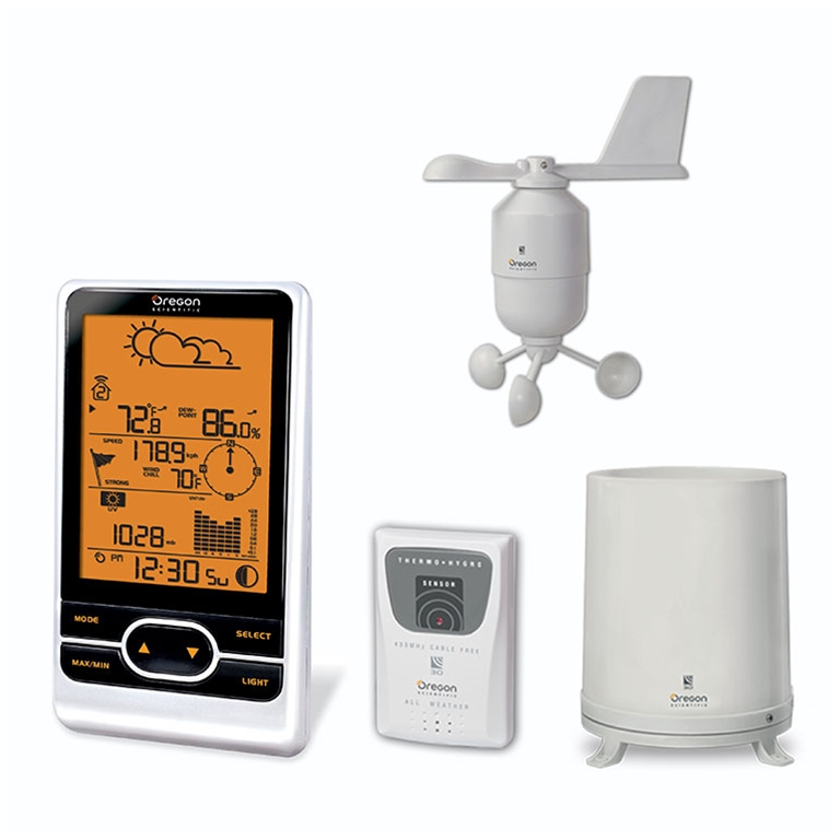 Oregon Scientific WMR86 / WMR86A Backyard Pro Wireless Weather Station - Home Weather Station