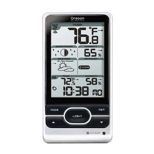 Oregon Scientific BAR208HGA-CA-OEM Weather Station Display - Not In Retail Packaging