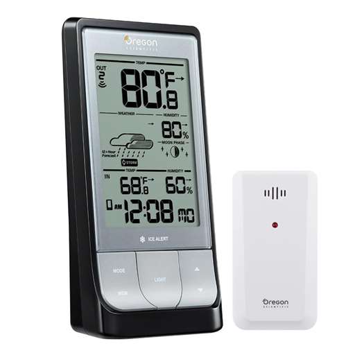 Oregon Scientific BAR218HGX Weather@Home Bluetooth Weather Station