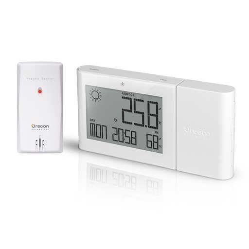 Oregon Scientific BAR266-WH Alize Weather Station - White