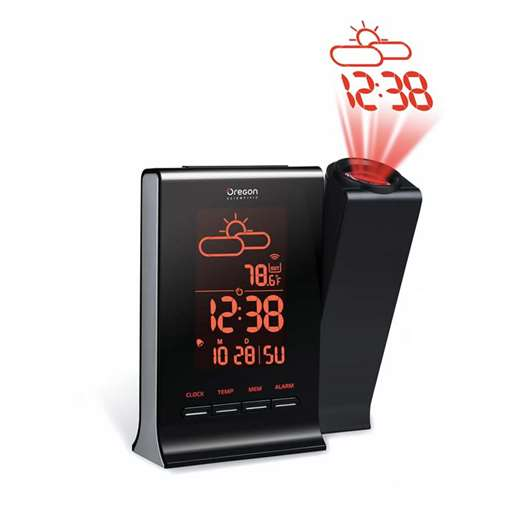 Oregon Scientific BAR339DPA-CA-OEM Projection Clock Without Sensor - Not In Retail Packaging