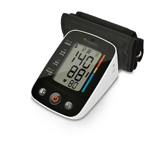 Oregon Scientific BPU321OS Talking Blood Pressure Monitor with Bluetooth