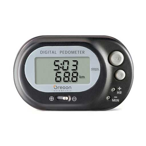 Oregon Scientific PE320 Pedometer with Distance Calculator