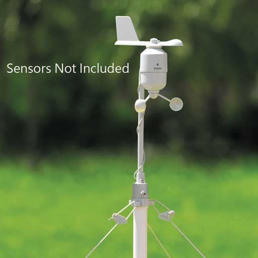 Oregon Scientific POLE-KIT-OEM Mounting Pole Kit For Professional Weather Stations - Not In Retail Packaging