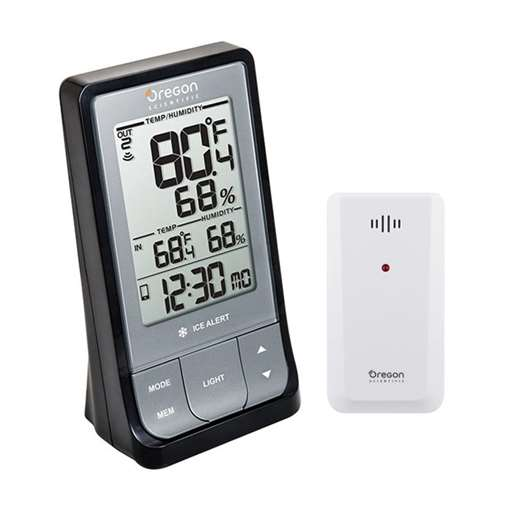 Oregon Scientific RAR213HGX Weather@Home Wireless Bluetooth ThermoHygrometer