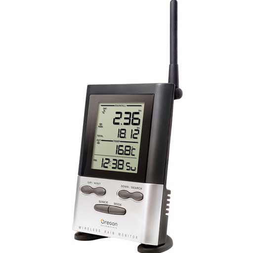 Oregon Scientific RGR126NCA-OEM Wireless Rain Gauge Display Console - Not In Retail Packaging