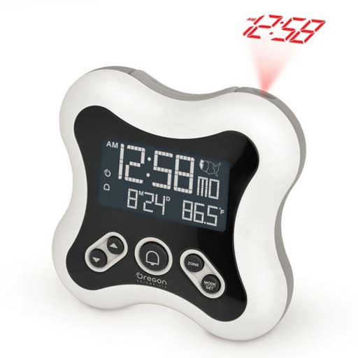 Oregon Scientific RM331P / RM331PA Projection Alarm Clock with Indoor Thermometer