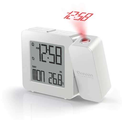 Oregon Scientific RM338PA-W PROJI Projection Clock with Dual Alarm - White