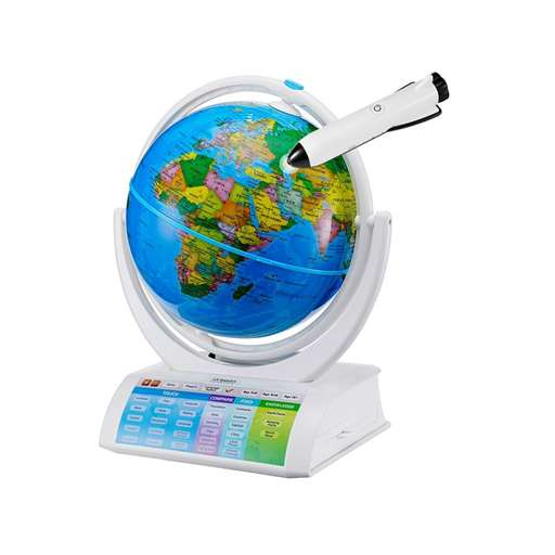 Oregon Scientific SG338R Smart Globe Explorer AR World Geography Space Planet Science Educational Games For Kids - Learning Toy | Oregon Scientific Store