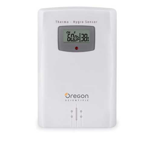 Oregon Scientific THGR122N Wireless Temperature and Humidity Sensor with Display