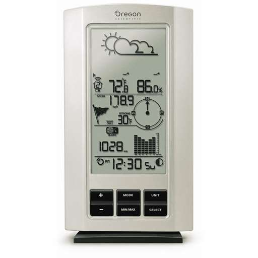 Oregon Scientific WMR80-CA-OEM Main Display Console For Professional Weather Stations - Not In Retail Packaging