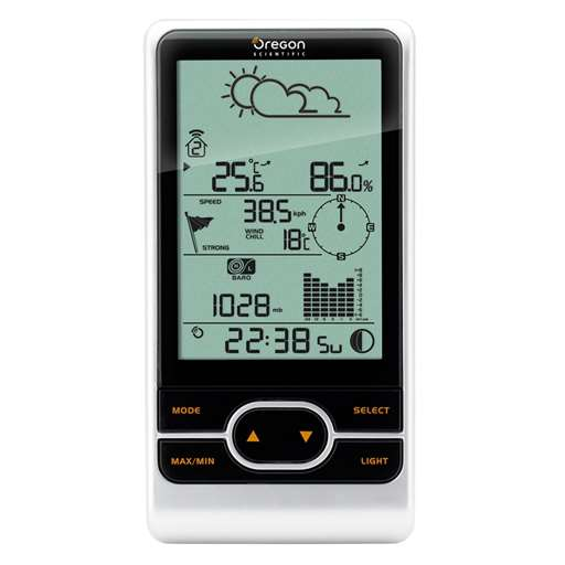 Oregon Scientific WMR86A-CA-OEM Main Display Console For Professional Weather Stations - Not In Retail Packaging