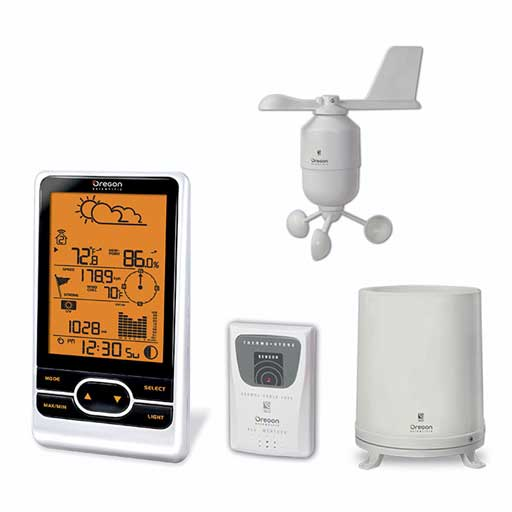 Oregon Scientific WMR86A Backyard Pro Wireless Weather Station