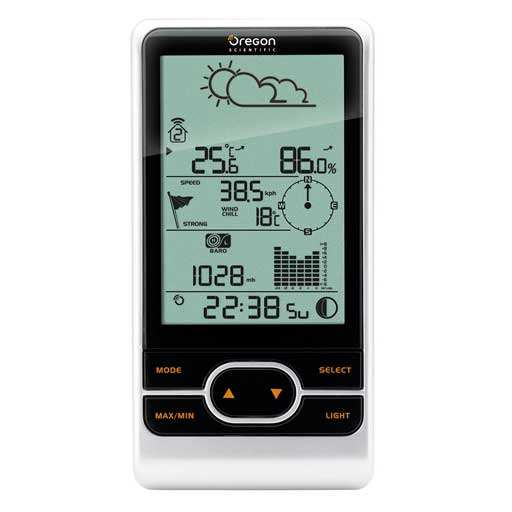 Oregon Scientific WMR86CA-OEM Main Display Console For Professional Weather Stations - Not In Retail Packaging