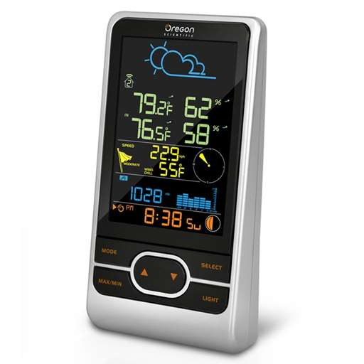 Oregon Scientific WMR86NS-CA-OEM Colored Main Display Console For Professional Weather Stations - Not In Retail Packaging