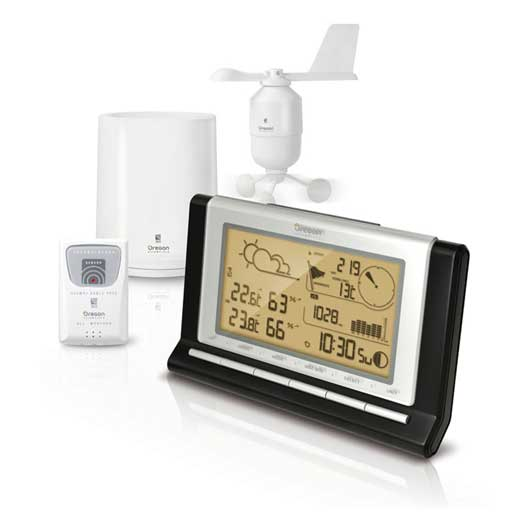 Oregon Scientific WMR89 / WMR89A Full Weather Station with USB and 7 Day Data Logger - Home Weather Station