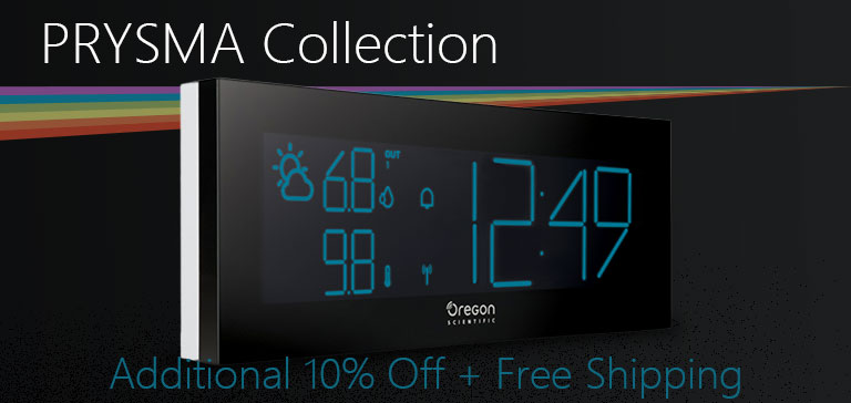 PRYSMA Collection Atomic Clock and Weather Station Sale