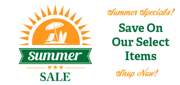 Summer Sale and Specials