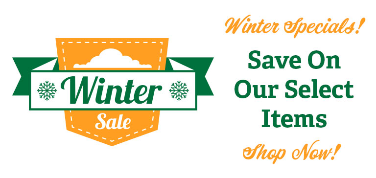 Winter Sale and Specials