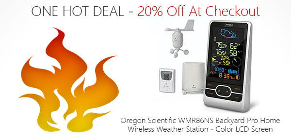 One Hot Deal on the WMR86NS Pro Weather Station