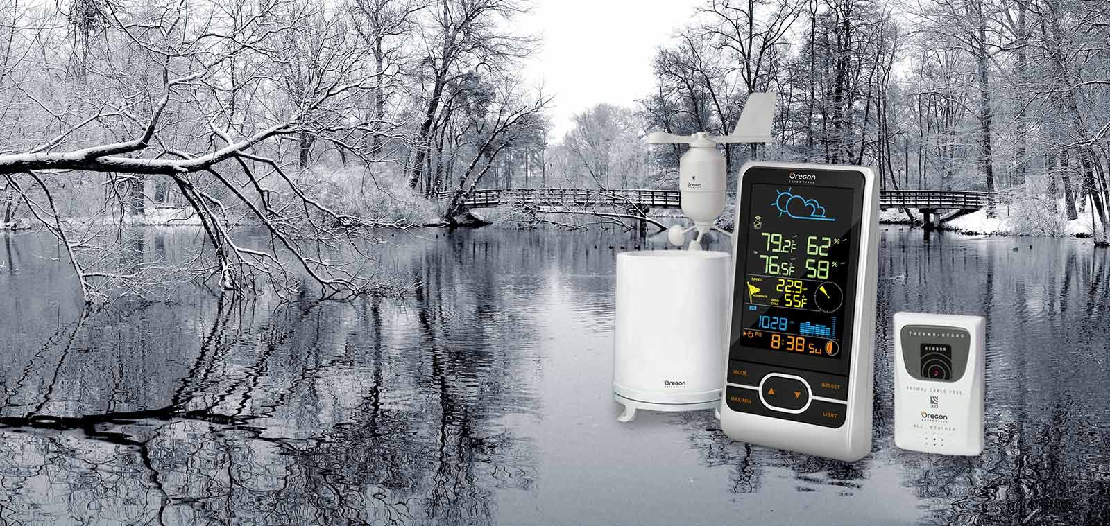 Oregon Scientific Store WMR86NS Weather Station with Color LCD